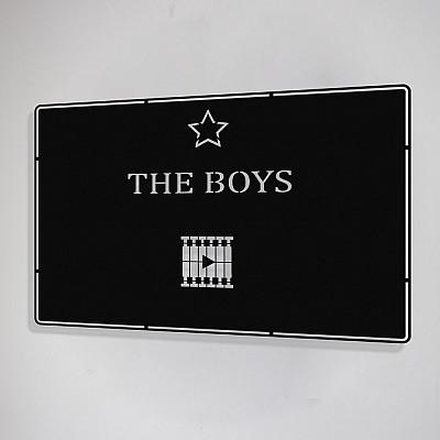 Benim Favori Dizim The Boys Tasarım Metal Tablosu 50x32cm