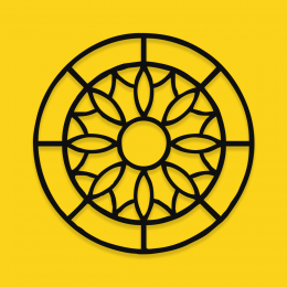Lotus Çiçeği Yoga  Semboli Metal Dekoratif İç Mekan İçin Metal Tablo 50x50 Cm